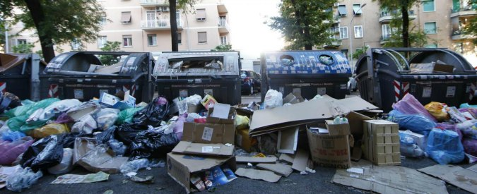 Foto Vincenzo Livieri - LaPresse  09-05-2017 - Roma Emergenza rifiuti.  Vincenzo Livieri - LaPresse  09-05-2017- Roma News Waste Emergency.